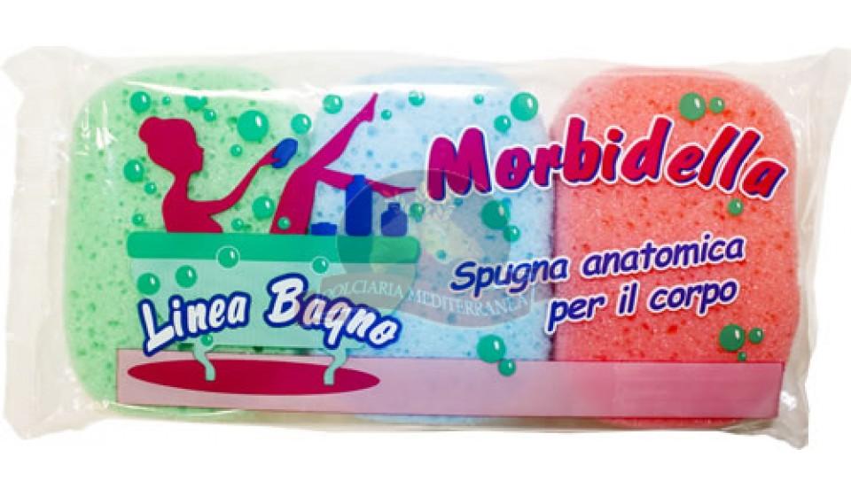 Morbidella spugna da bagno x 3 - Spugne da bagno ...